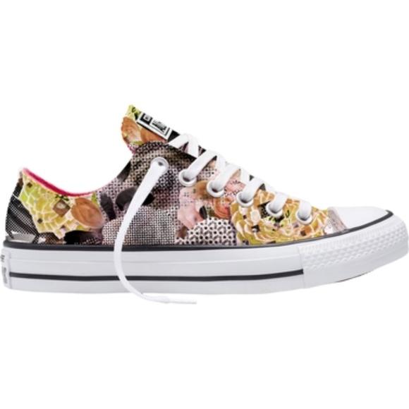 4e53fc4cec4f Converse Shoes - converse 553299f digital floral ox black white